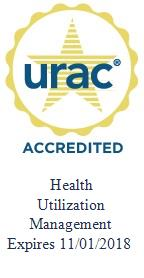 URAC CareContinuum Accreditation Seal